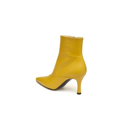 Point toe ankle boots(yellow)_DG3CX18514YEW