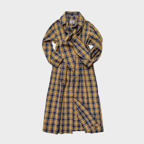 [여성] L19SS Check Shirts OPS Yellow