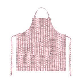 H55 APRON White/Red
