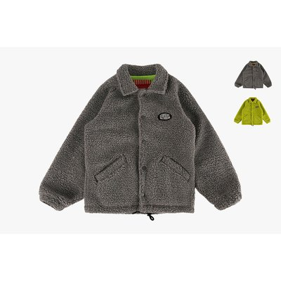 [20% SALE] Icebiscuit fleece coach jacket