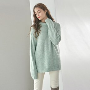 1/27부터 순차발송WOOL LOOSE R SWEATER_MINT (3853122)