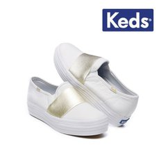 [Keds] 트리플 벤듀 레더 TRIPLE BANDEAU LEATHER WH58046 여성