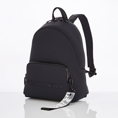 스트레치엔젤스[N.E.O] Basic zipper pocket backpack M (Black)
