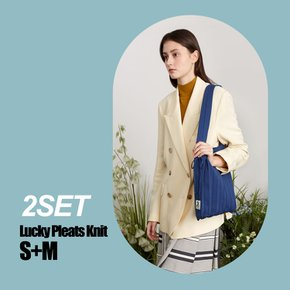 [2SET] Lucky Pleats Knit S+M(0JSJ1TT40512)