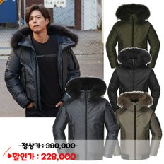 [18FW 이월] STOOKY+ (스투키+) α DOWN JACKET / DMW18567 (4COLOR)
