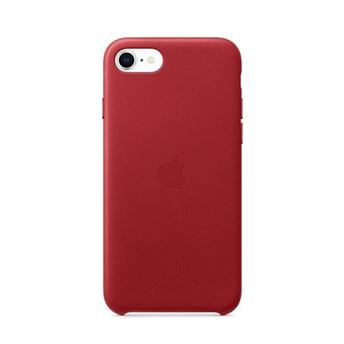 iPhone SE 가죽 케이스 - (PRODUCT)RED(MXYL2FE/A)