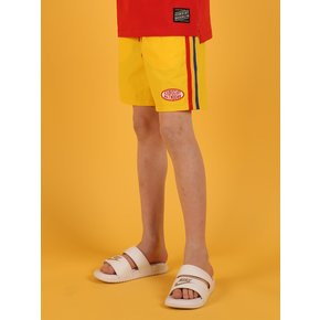 [SPECIAL SALE] Yellow color block shorts