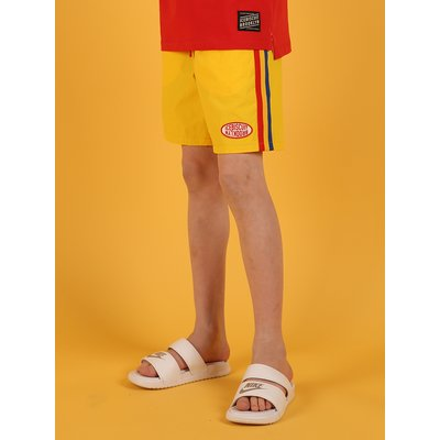 [30% sale] Yellow color block shorts