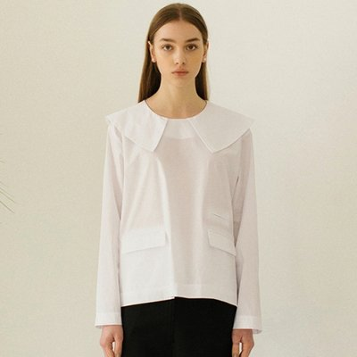 Sailor Collar Top - White
