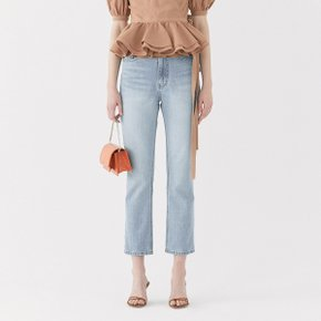 [가브리엘리]  19SS HIGH-WAISTED STRAIGHT-FIT JEANS