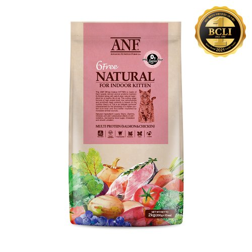 ANF 유기농 캣 6Free Indoor Adult 2kg