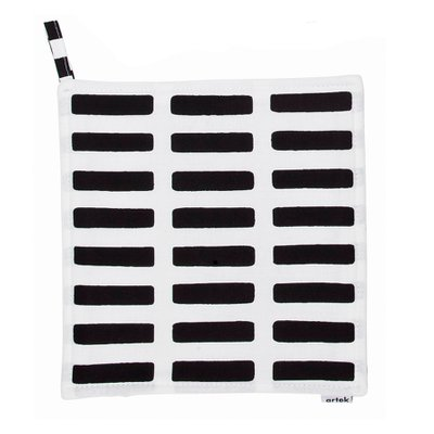 SIENA POT HOLDER White/Black