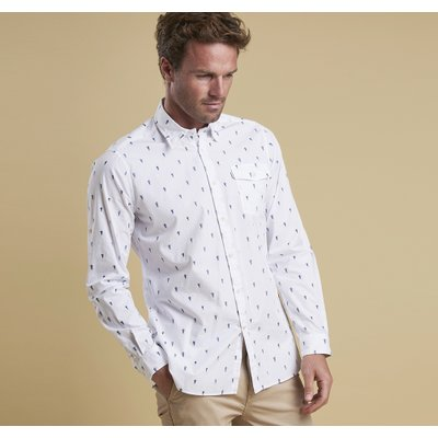 젤리피쉬 셔츠 화이트(Barbour Jellyfish Shirt WH)BAH1MSH4213WH11