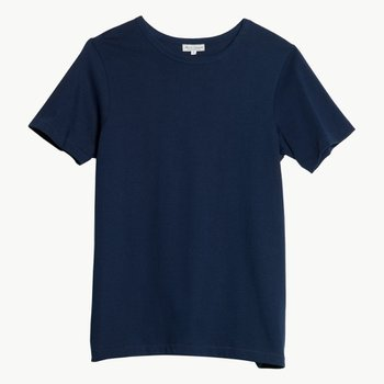 215 CLASSIC CREW NECK T-SHIRT INK BLUE