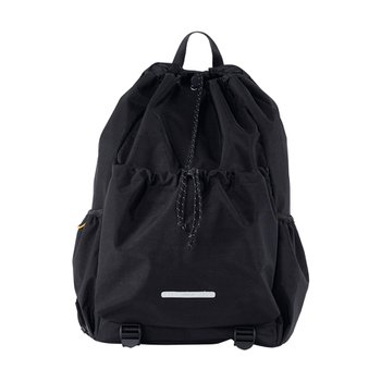 STRING BACKPACK 750 W.NYLON BLACK