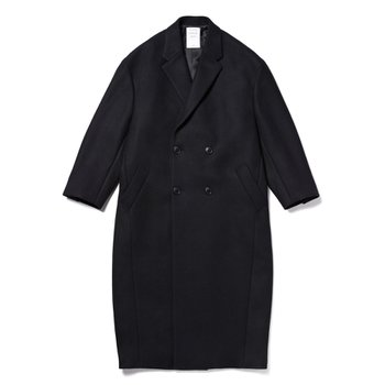미스터젠틀맨  CHESTER FIELD COAT BLACK