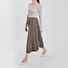 / autumn pleated skirt