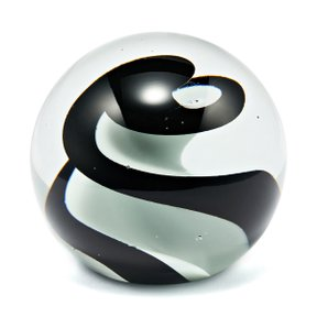 RO Glass Paper Weight Ø10 B&W
