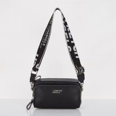 [파니니백] PANINI metal logo solid bag (Black)
