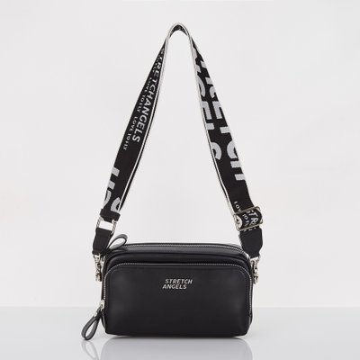 스트레치엔젤스[파니니백]PANINI metal logo solid bag(Black)(SUMR01911)