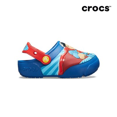 크록스공식 아동 CROCSFL SUPERMAN LIGHTS CLOG K BLJ (19SKBL205515)