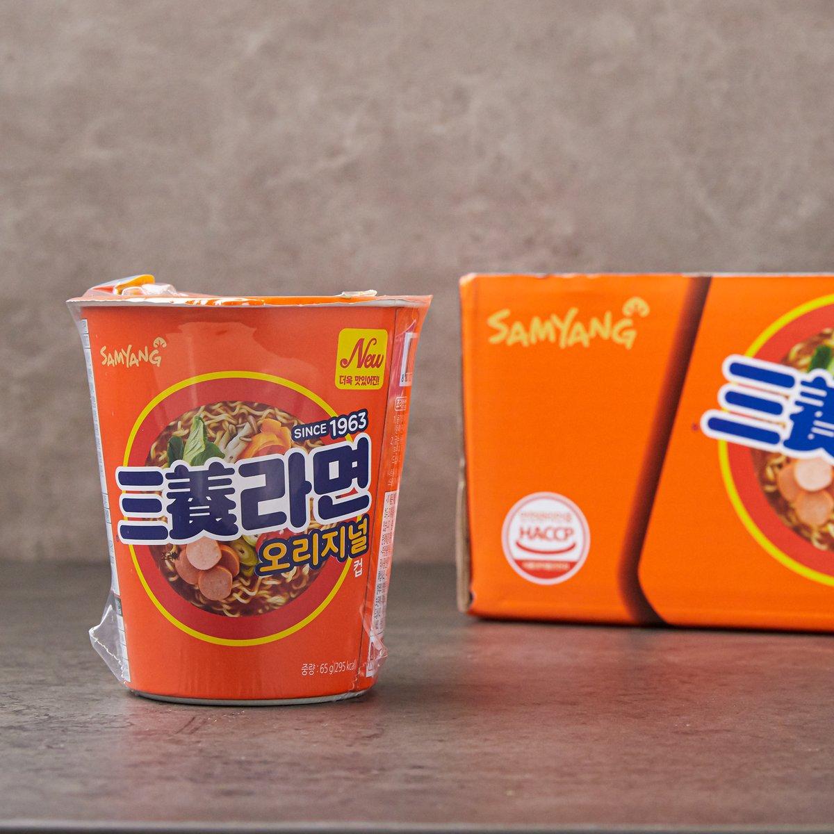 [삼양] 삼양 라면 소컵 65g*6개 (신)