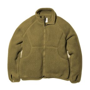 스노우피크 Thermal Boa Fleece Jacket Olive