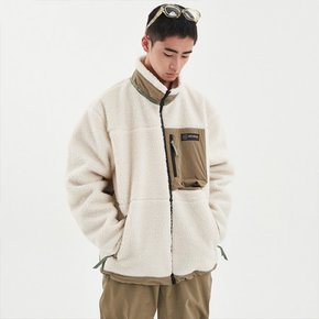 19/20 DIMITO RAVINE FLEECE JACKET_IVORY (디미토 레이빈 후리스)