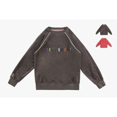 [40% SALE] Rainbow icebiscuit velour sweatshirt