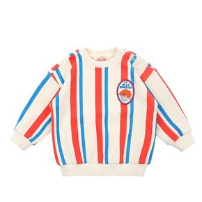 Milk man baby multi stripe loose fit sweatshirts
