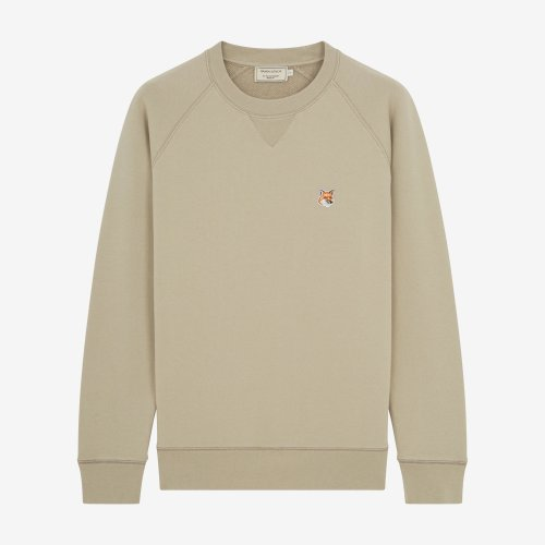 [PRE-ORDER] 19FW SWEATSHIRT FOX HEAD PATCH BEIGE MEN DM00310KM0002