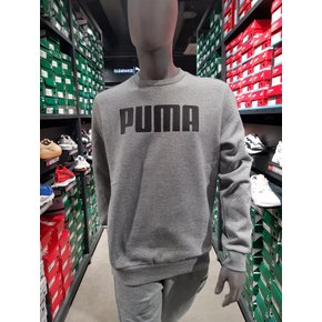 [시흥점] ESS Crew Sweat FL Big PUMA