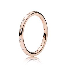 판도라  Simple Sparkling Band Ring 180945CZ-52