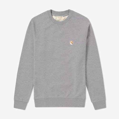 [PRE-ORDER] 20SS SWEATSHIRT FOX HEAD PATCH GREY MEN AM00303KM0001
