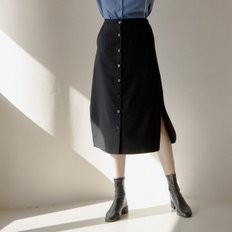 [엽페]WOOL LONG SKIRT_BLACK