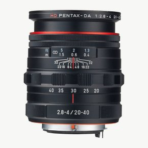 HD DA 20-40mm F2.8-4ED LIMITED DC WR BLACK 렌즈