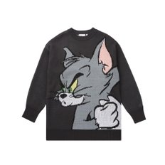 [11월 25일 예약배송][FW19 T&J] Tom Jacquard Knit(Charcoal)
