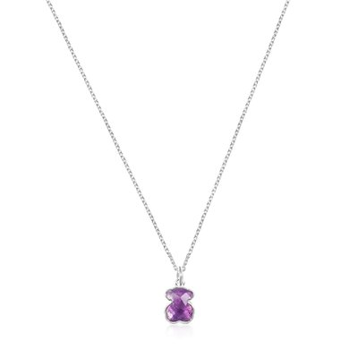 [최초출시가 105,000원]Silver and Amethyst Icon Color Necklace/목걸이/015432540
