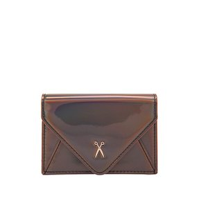 Easypass Amante Card Wallet with Chain Mirror Brown (0JSL5CC40105F)