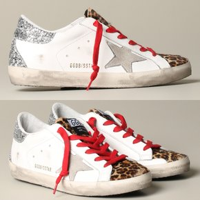 Golden Goose Superstar Suede Star Leopard Horsy Toe GWF00102.F000224.80244 골든구스 슈퍼스타 스니커즈