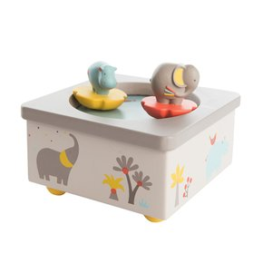 수면 오르골박스 Les Papoum Wooden Musical Box