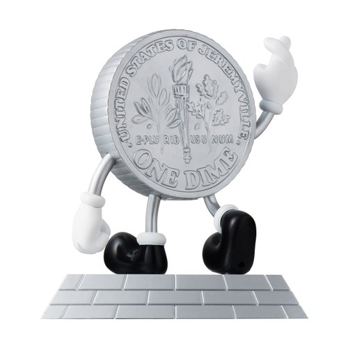 LUCKY COIN MONEY BOX FIGURE BY JEREMYVILLE