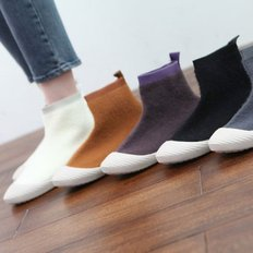 kami et muse Soft fur scoks fit sneakers_KM19w200