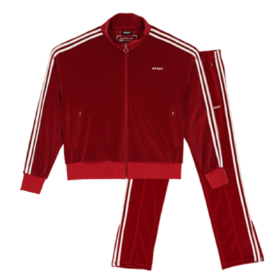 Velour Track SET 21035 Burgundy