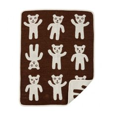 Bruno childrens blanket 브루노 어린이 담요 brown