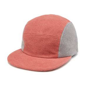 PEAK CAP RED/GREY