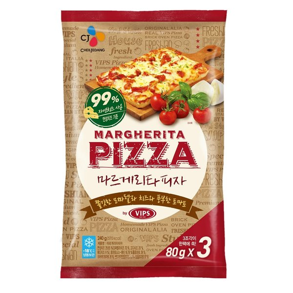 CJ 빕스 마르게리타 피자 80G3