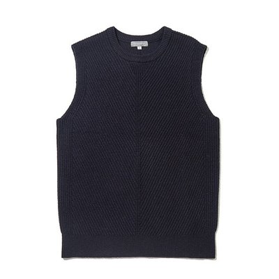 solid wool knit vest_C9WAW18551NYX