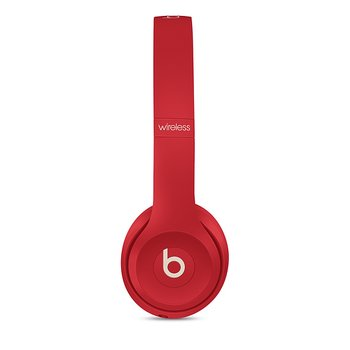 Beats Solo3 Wireless 헤드폰 - Beats Club Collection - 클럽 레드(MV8T2PA/A)
