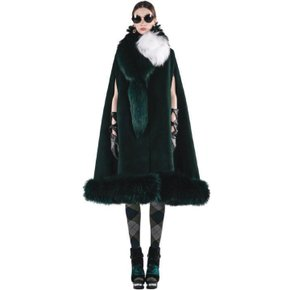 CAPE FUR COAT